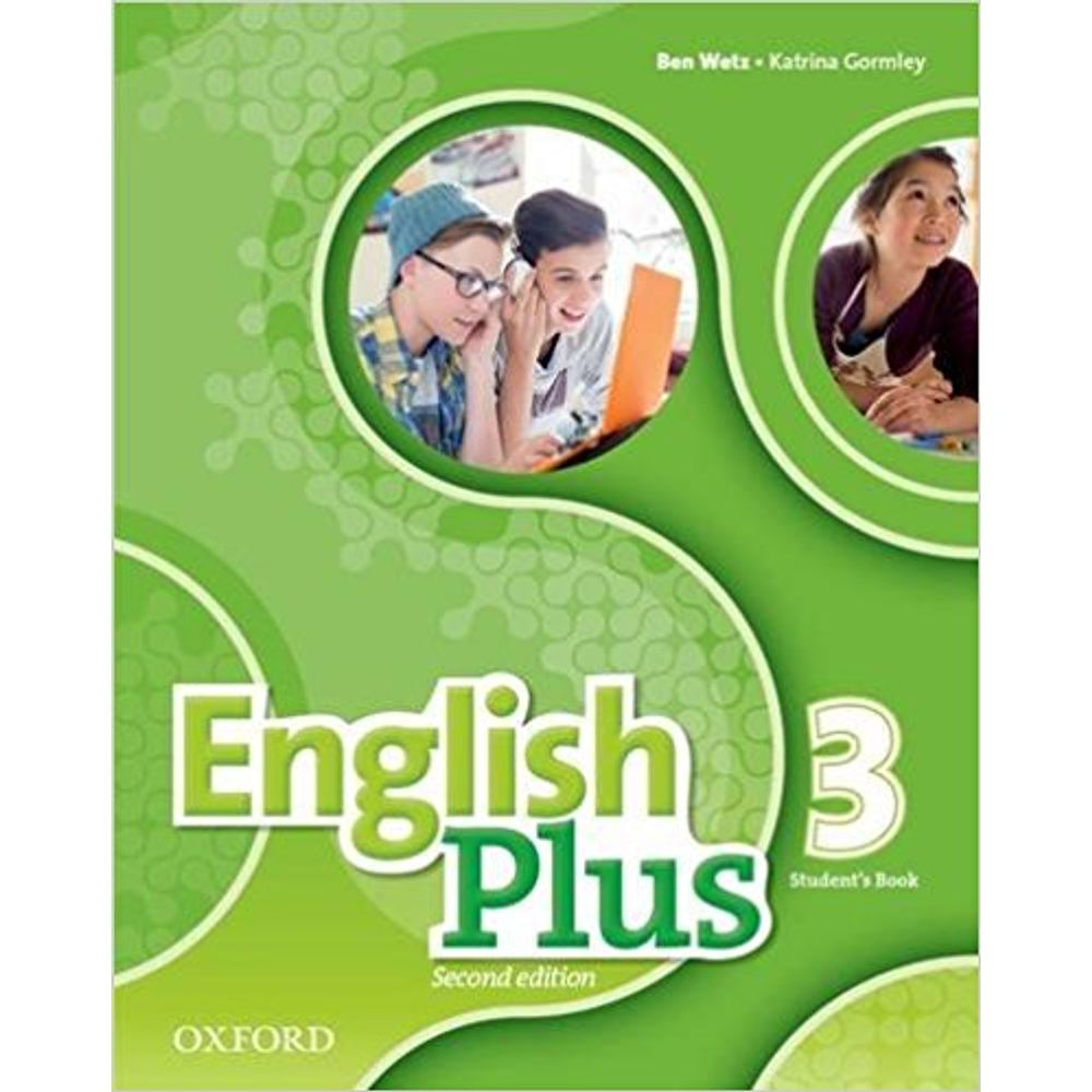 ENGLISH PLUS 3 (2ND EDITION) - STUDENT'S BOOK - SBS Librerias
